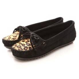ミネトンカ MINNETONKA Leopard kilty  moc(BLACK)
