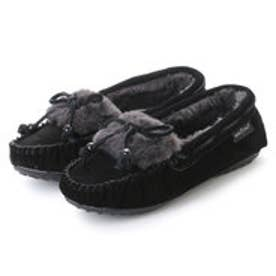 ミネトンカ Minnetonka KYRA SLIPPER 40680 (BLACK)