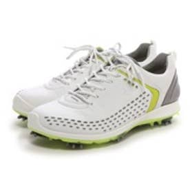 エコー ECCO MEN'S GOLF BIOM G 2(WHITE/LIME PUNCH)