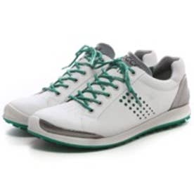 エコー ECCO MEN'S GOLF BIOM HYBRID 2(WHITE/PURE GREEN)