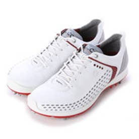 エコー ECCO ECCO MEN'S GOLF BIOM G 2 (WHITE/BRICK)