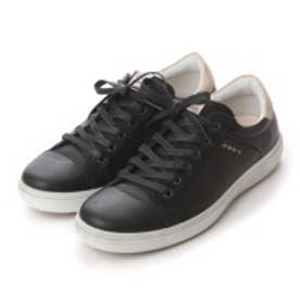 エコー ECCO ECCO MEN'S GOLF CASUAL HYBRID (BLACK)