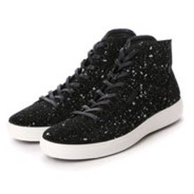 エコー ECCO ECCO Mens Soft 7 High Top (BLACK)