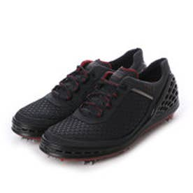 エコー ECCO ECCO MEN'S GOLF CAGE (Black-Black/Brick Tex/Outsol)