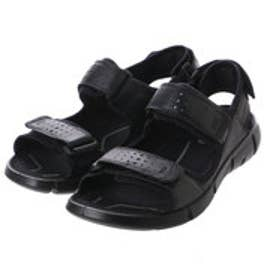 エコー ECCO INTRINSIC SANDAL MEN'S (BLACK/BLACK)