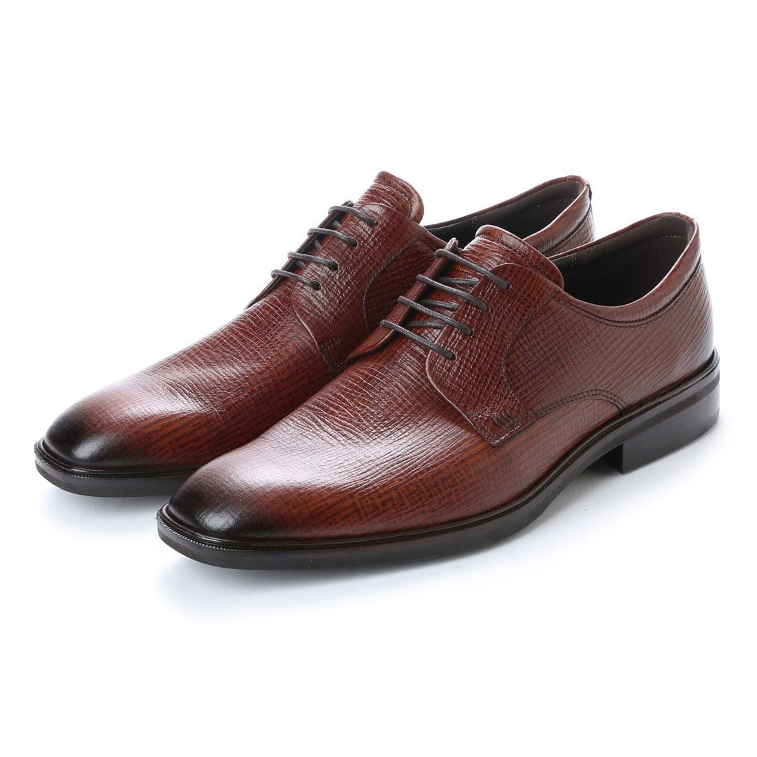 エコー ECCO Illinois Plain Toe Tie (COGNAC) メンズ
