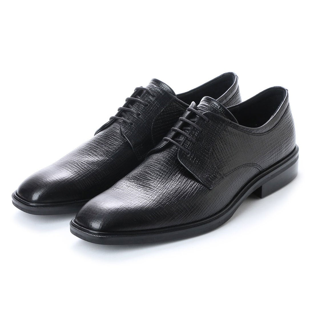 エコー ECCO Illinois Plain Toe Tie (BLACK) メンズ