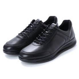 エコー ECCO Mens Aquet Sneaker (BLACK)