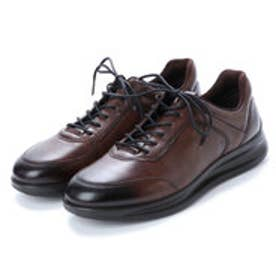 エコー ECCO Mens Aquet Sneaker (COCOA BROWN)