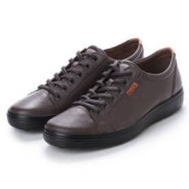 エコー ECCO Mens Soft 7 Sneaker (LICORICE)