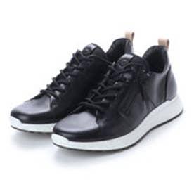 エコー ECCO Mens ST1 Sneaker (BLACK)