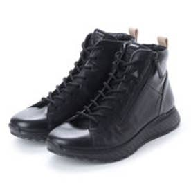 エコー ECCO Mens ST1 High Top (BLACK)