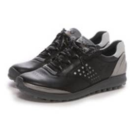 エコー ECCO WOMEN'S GOLF BIOM HYBRID 2(BLACK/BUFFED SILVER)