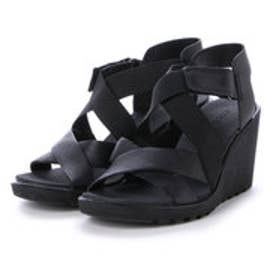 エコー ECCO ECCO FREJA WEDGE SANDAL (BLACK)