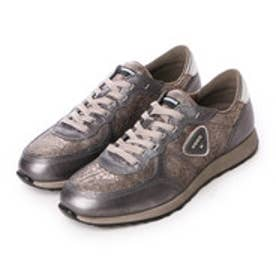 エコー ECCO ECCO SNEAK LADIES (ALUSILVER/WARM GREY/ALUSILVER)