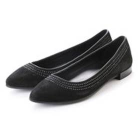 エコー ECCO Shape pointy ballerina (BLACK)