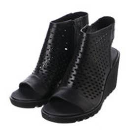 エコー ECCO FREJA WEDGE SANDAL (BLACK)