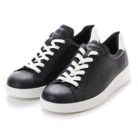 エコー ECCO Soft 4 (BLACK/WHITE)