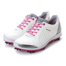 エコー ECCO Womens Golf Biom G 2 (White/Candy RacY/Ou)