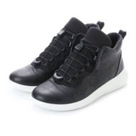 エコー ECCO ECCO Womens Scinapse High Top (BLACK/BLACK)