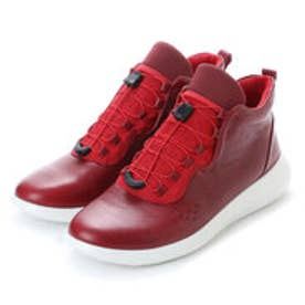 エコー ECCO ECCO Womens Scinapse High Top (CHILI RED/CHILI RED)