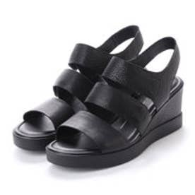 エコー ECCO Shape Wedge Plateau (BLACK)