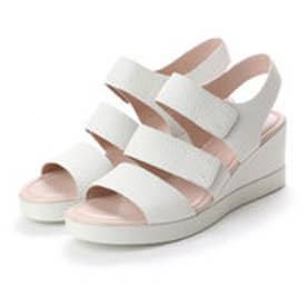 エコー ECCO Shape Wedge Plateau (WHITE)