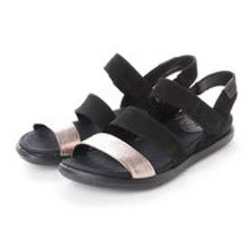 エコー ECCO Damara Modern Sandal (WARM GREY/BLACK)