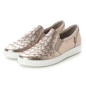 エコー ECCO Womens Soft 7 Woven (WARM GREY)
