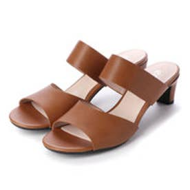 エコー ECCO SHAPE SLEEK SANDAL 45 Shoe (CAMEL)