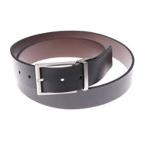 エコー ECCO Michael Formal Belt (BLACK/COCOA BROWN)