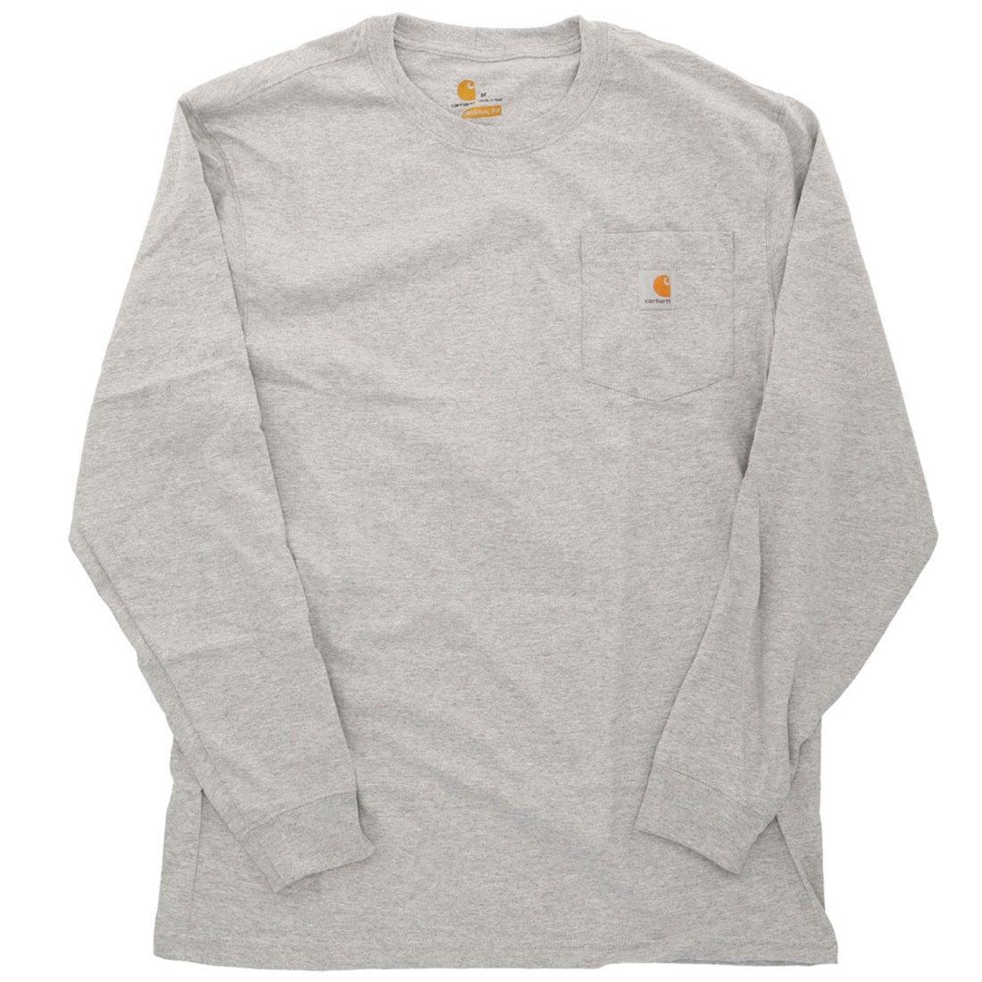 ロコンド 靴とファッションの通販サイトカーハート Carhartt carhartt カーハート Workwear Pocket Long Sleeve Tshirt (HGY. HeatherGray)