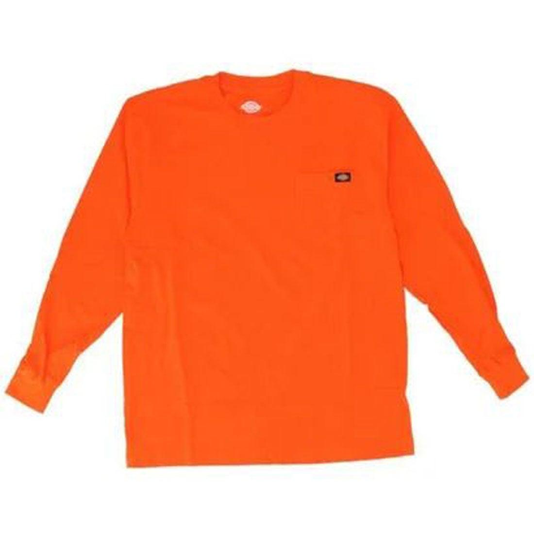 ロコンド 靴とファッションの通販サイトディッキーズ Dickies Dickies ディッキーズ WL450 LS HEAVYWEIGHT CREW NECK (OR. Orange)