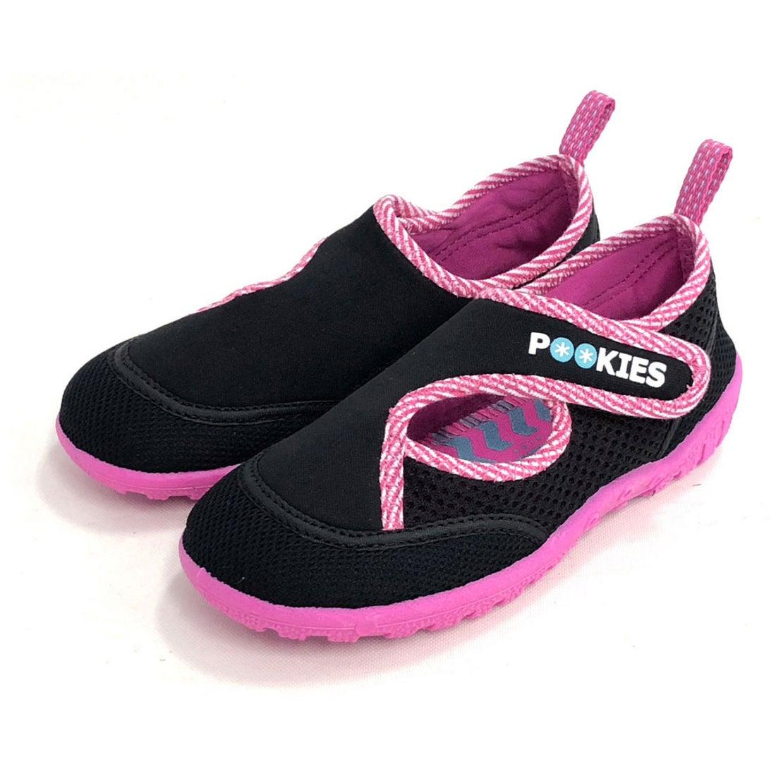 ノーブランド No Brand Pookies プーキーズ pka120 water shoes kids (Pink-ST)