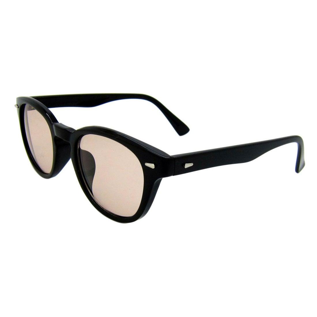 ノーブランド No Brand サングラス sunglass 5005 (ブラック/L.ブラウン)