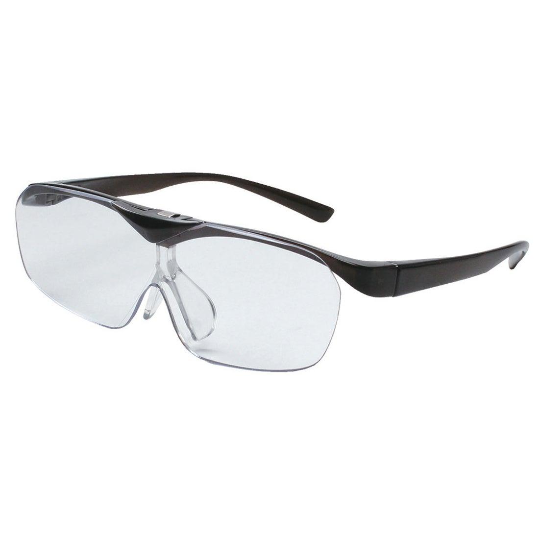 ノーブランド No Brand SMARTEYEスマートアイFSL-01眼鏡型はね上げタイプ (ダークグレー)