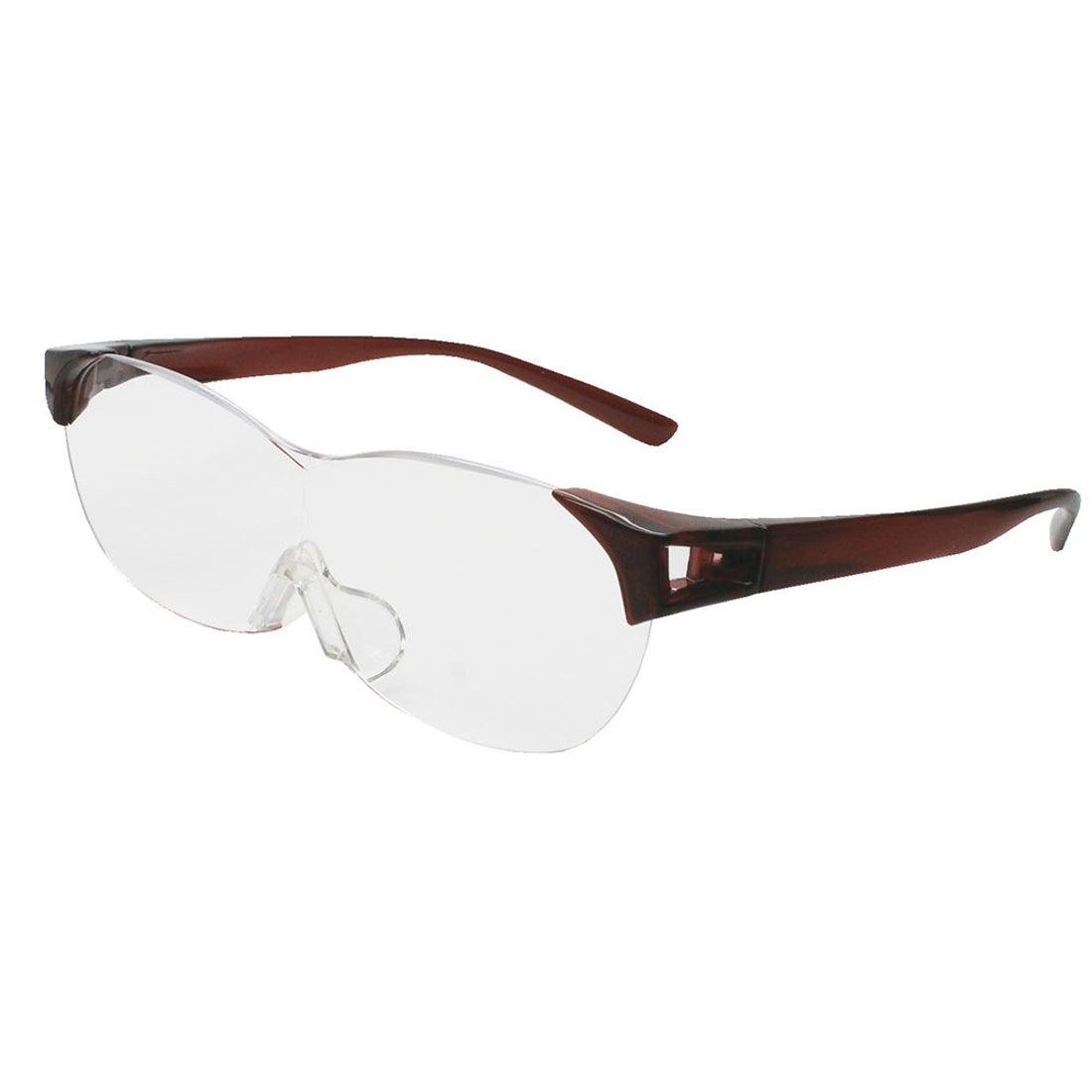 ノーブランド No Brand SMARTEYE スマートアイ 眼鏡タイプ SM011 SL105 (ダークワイン)