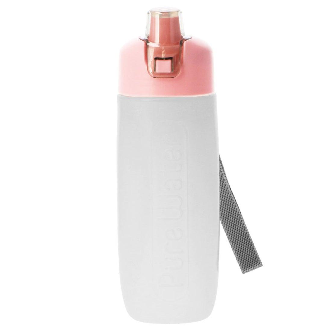 ノーブランド No Brand 携帯用浄水ボトル ピュアウォーター (ピンク)