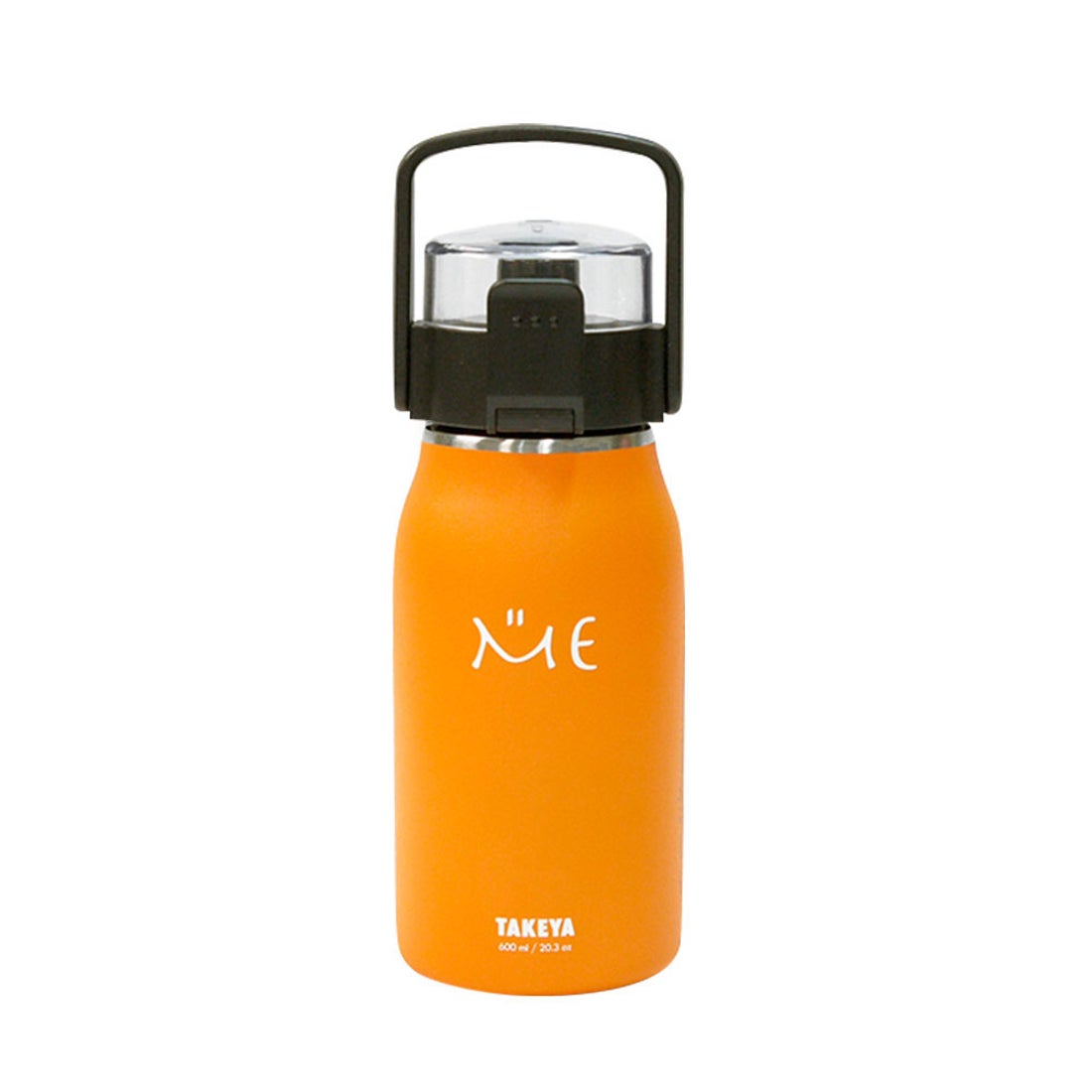 ノーブランド No Brand ステンレスボトル ミーボトル 600ml (オレンジ)