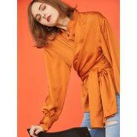 EMODA ワイドウエストシャツ(オレンジ)