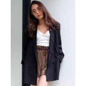 EMODA DOUBLE BREASTジャケット(ブラック)