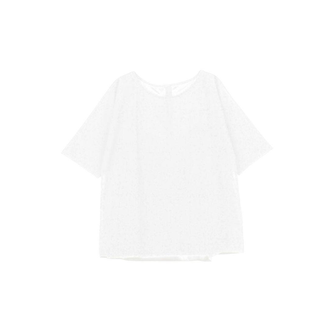 EMODASHEERWTシャツ(ホワイト)