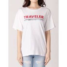 EMODA トラベラープリントTシャツ(ホワイト)