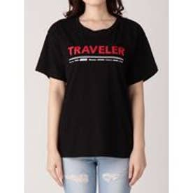EMODA トラベラープリントTシャツ(ブラック)