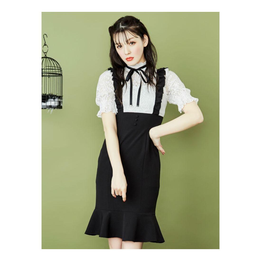 238592982203e7 EATME レースブラウスレイヤードワンピース(ブラック) -レディースファッション通販 ロコンドガールズコレクション (LOCONDO GIRL'S  COLLECTION)