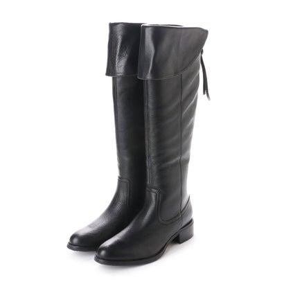【EVOL】 abcdevol 本革撥水フリンジファスナーブーツ (ブラック)AF30226