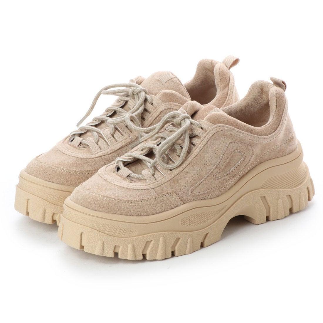 EVOL】 Mathilda 4色展開厚底スニーカー (ベージュ),靴
