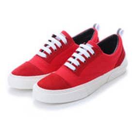 スラック SLACK [SLACK FOOTWEAR] RECENT リセント スニーカー (RED/WHITE)