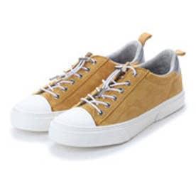スラック SLACK [SLACK FOOTWEAR]  (PREMIUM SUEDE) クルード スエード スニーカー (MUSTARD/WHITE)