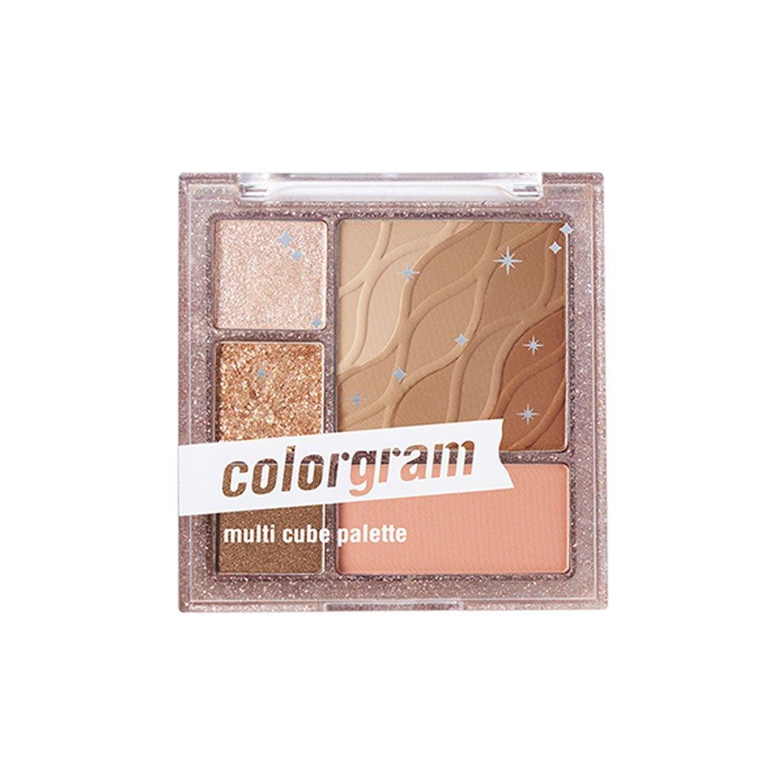 カラーグラム colorgram マルチキューブパレット 01 ベーシックキューブ【返品交換不可】